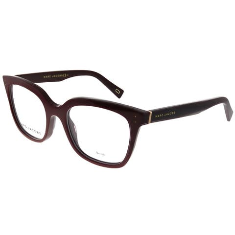 Marc Jacobs Marc 122 0XU 50mm Unisex Burgundy Frame Eyeglasses 50mm