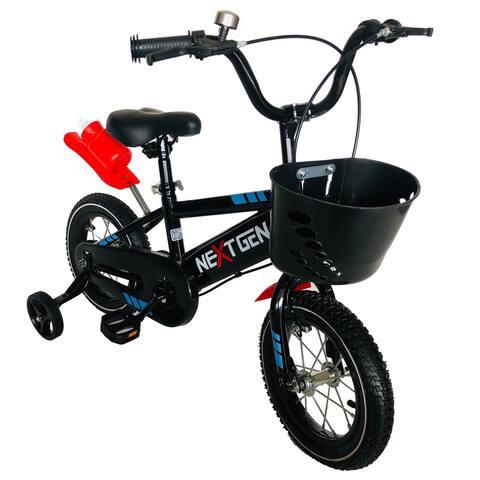NextGen 12-inch Steel Children's Sport Bike with Removable Training Wheels
