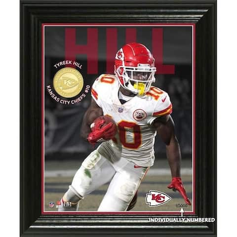 Tyreek Hill Elite Series Bronze Coin Photo Mint