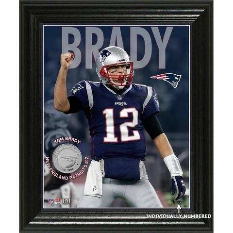 Tom Brady Elite Series Bronze Coin Photo Mint