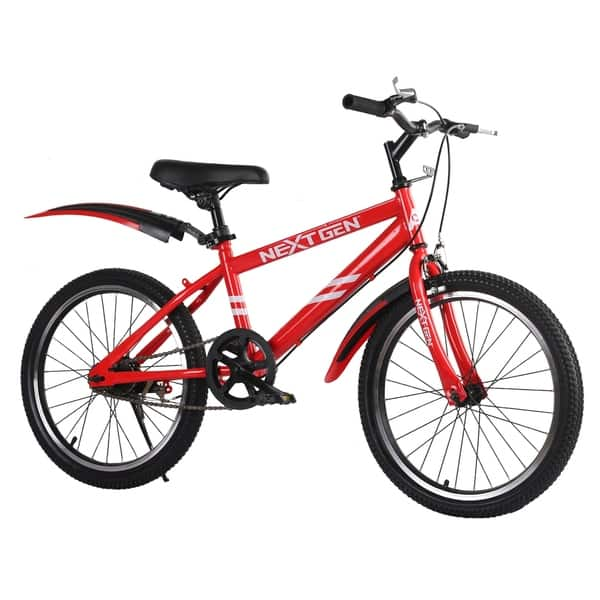 Shop Nextgen 20 Inch Steel Frame Sporty Children S Bike With Removeable Training Wheels Overstock 28953487 Red