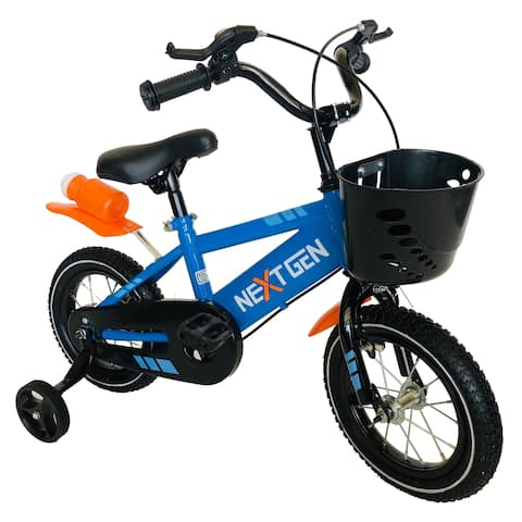NextGen 12-inch Steel Frame Sporty Children's Bike with Removeable Training Wheels
