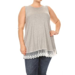 Casual Pattern Flutter Short Sleeve Plus Size Shirt Tee Tunic Top