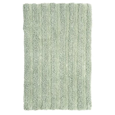 """Chesapeake Supreme Moss Green Bath Rug (20""""x30"""")"""