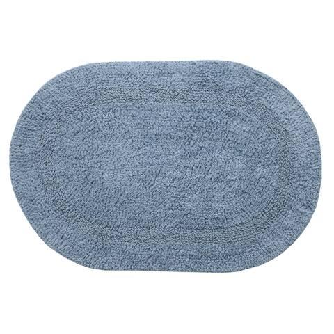 """Chesapeake Bath essential cotton oval Rug (19""""x29"""")"""