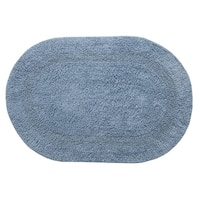 "Chesapeake Bath essential cotton oval Rug (19""x29"")"