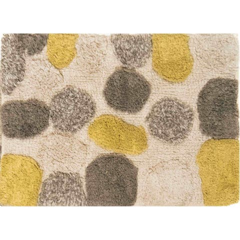 Chesapeake Pebbles Willow bath rug