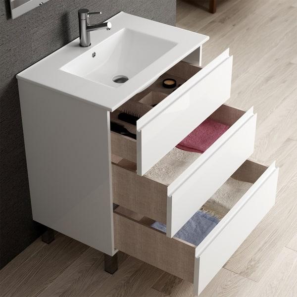 Eviva Vigo 28 White Bathroom Vanity