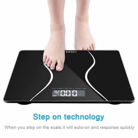 Smart Digital Body Weight Bathroom Scale with Backlit Shine Display