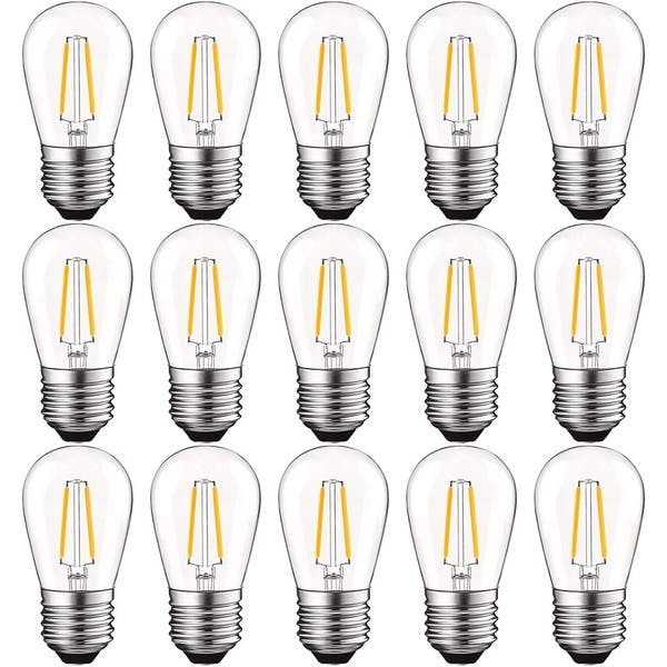 S14 Led Bulb Dimmable 2700k Warm White