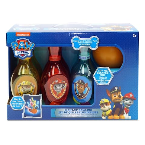 Paw Patrol Light Up Bowling Set - Indoor/Outdoor