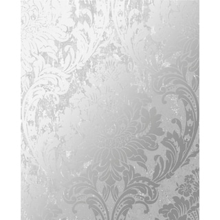 Link to Milan Damask Silver and Grey Wallpaper Similar Items in Wall Coverings