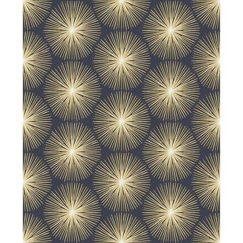 Fire Circle Blue Wallpaper
