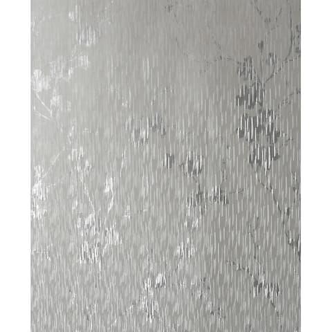 Theia Blossom Silver Wallpaper