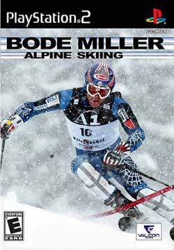 PS2 - Bode Miller Skiing