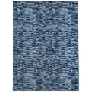 WEXLER GEO BLUE Area Rug By Kavka Designs
