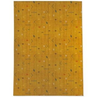 CACTUS SOFT MUSTARD Area Rug By Kavka Designs