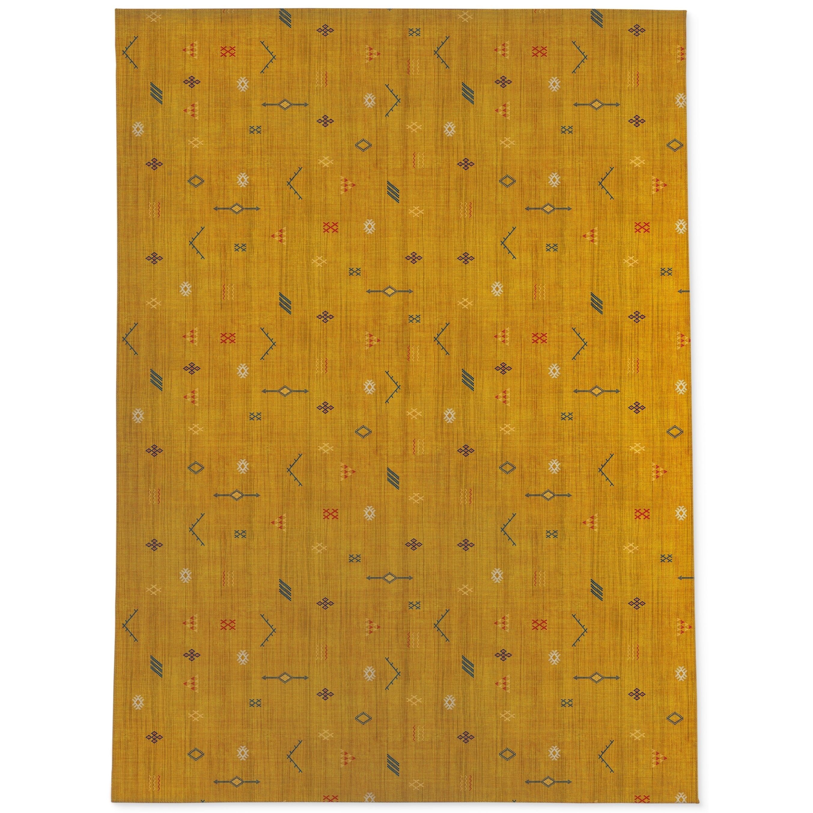 Picture of: Cactus Soft Mustard Area Rug By Kavka Designs Overstock 28963078