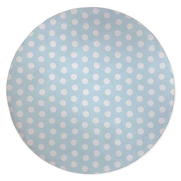 Big Polka Dots Light Blue Area Rug By Kavka Designs Overstock 28963100