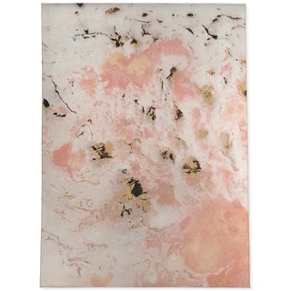 MARBLED PINK  Area Rug By Kavka Designs