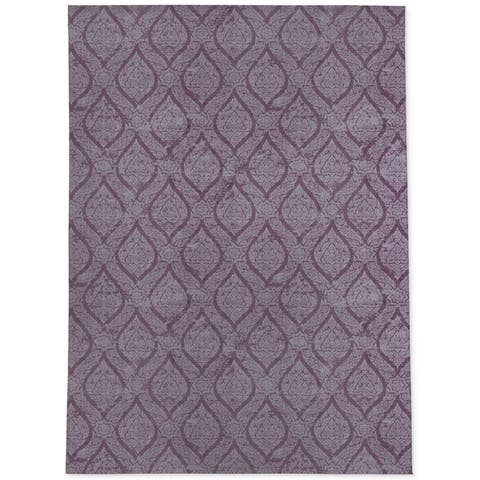 RAIN PURPLE Area Rug by Kavka Designs
