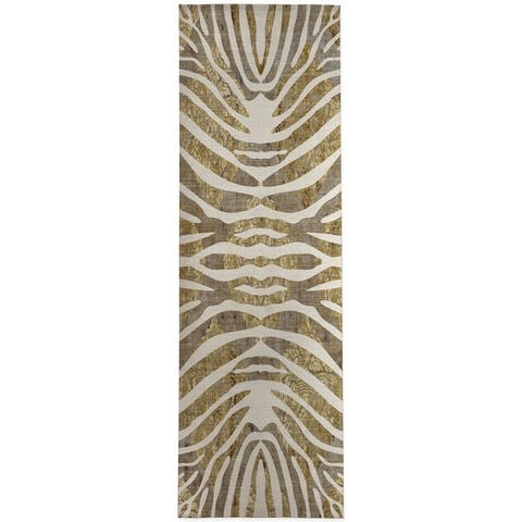 TIGER GOLD Area Rug by Kavka Designs