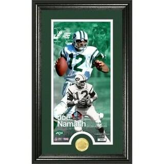 Joe Namath 1985 Pro Football Hall Of Fame Supreme Bronze Coin Photo Mint