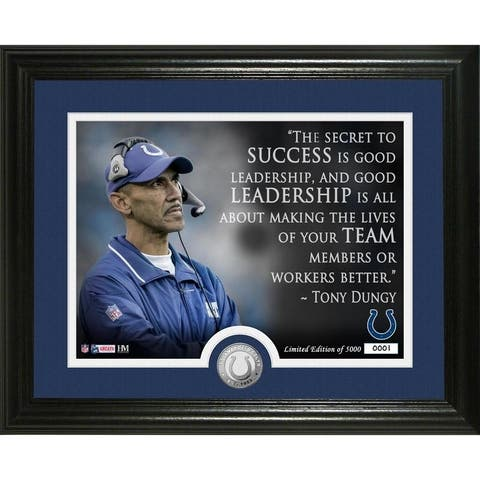 Tony Dungy Quote Bronze Coin Photo Mint