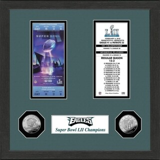 Philadelphia Eagles SB Championship Ticket Collection