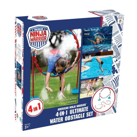 American Ninja Warrior Four in One Ultimate Water Obstacle Set