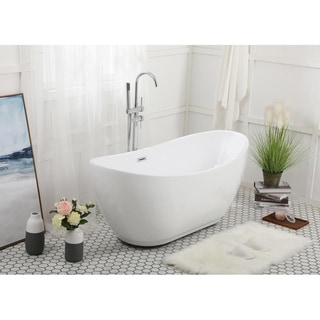 Link to Soaking bathtub in glossy white Similar Items in Bathtubs