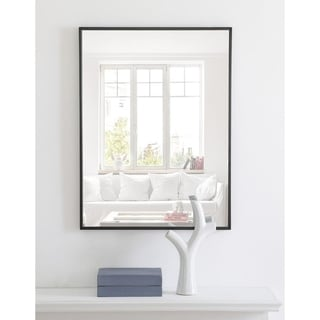 Link to Carson Carrington Salsnas Metal Frame Rectangular Mirror Similar Items in Mirrors