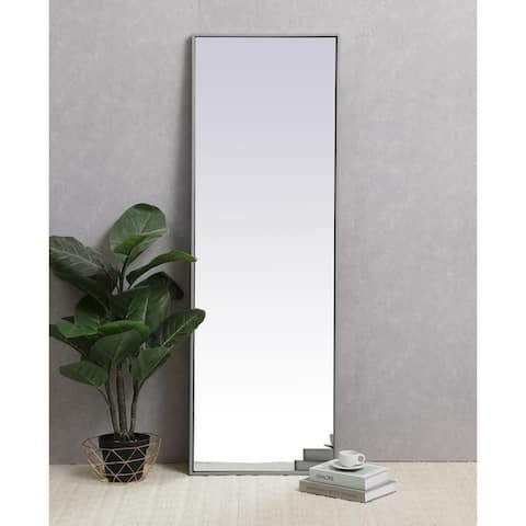 Carson Carrington Salsnas Metal Frame Rectangular Mirror