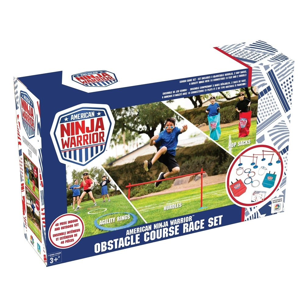 37-Piece American Ninja Warrior Obstacle Course Race Set