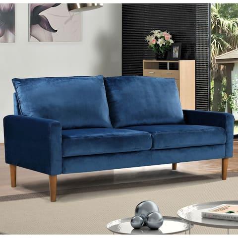 Ruiz Velvet Fabric Sofa