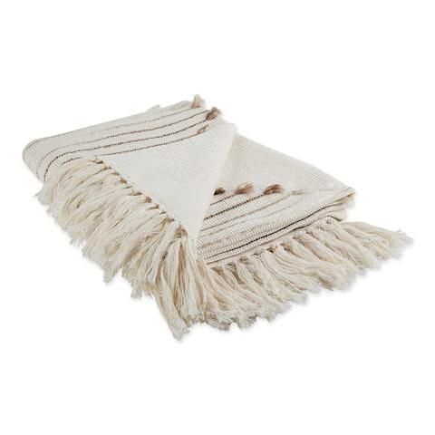 Porch & Den Crestridge Woven Cotton Throw