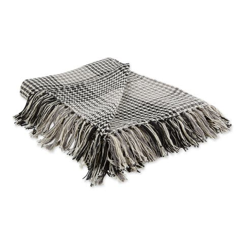 Porch & Den Crestridge Woven Cotton Throw