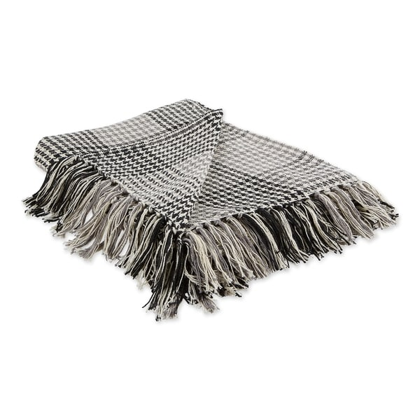 Porch & Den Crestridge Woven Cotton Throw. Opens flyout.