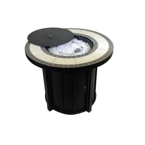 AZ Patio Heaters Round Tile Top Firepit