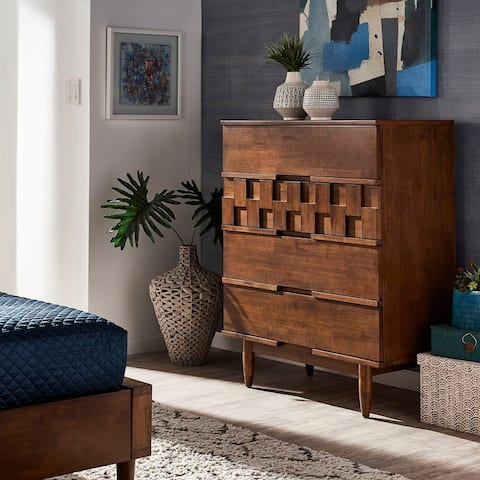 Carson Carrington Tessuto 4-drawer Chest