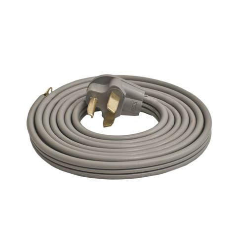 ALEKO ETL Approved 10-Foot Heavy Duty 3-Wire Dryer Cord, 30A RV - 10 feet long