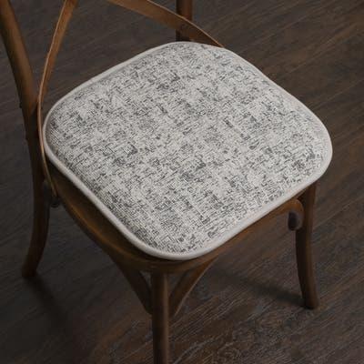 "Porch & Den Bravo Memory Foam 16-inch Chair Pad Set - 16""x16"""