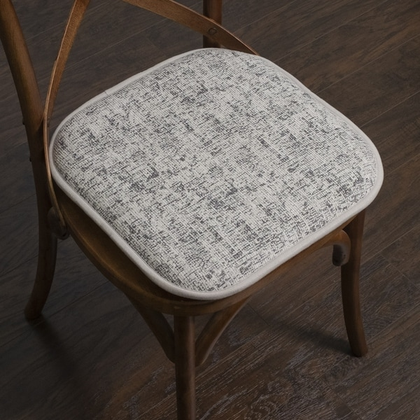 Porch & Den Bravo Memory Foam 16-inch Chair Pad Set