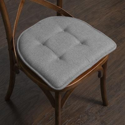 "U-Shaped Memory Foam Chair Pad Pairs (Assorted Colors) - 16""x17"""