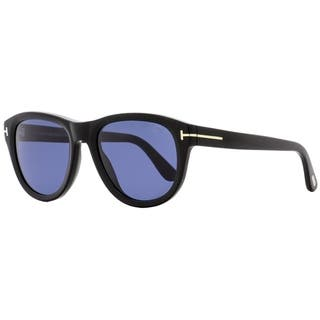 Tom Ford TF520 Benedict 01V Mens Shiny Black 53 mm Sunglasses - Shiny Black