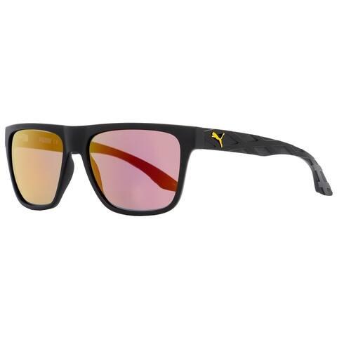 Puma PU0008S Exo 600 001 Mens Black 57 mm Sunglasses
