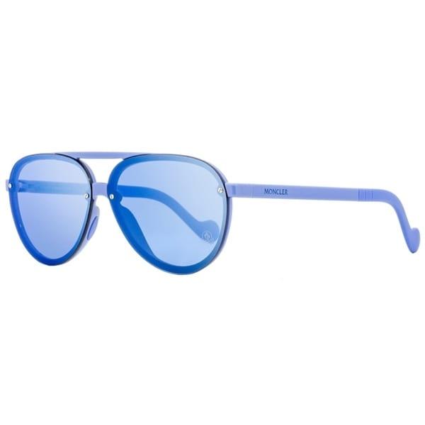 Moncler ML0063 90C Mens Light Blue 61 mm Sunglasses - Light Blue - Light Blue. Opens flyout.