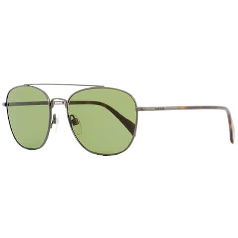 Diesel DL0194 09N Mens Gunmetal/Havana 54 mm Sunglasses