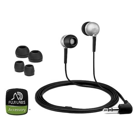 Fuji Labs Silver Acoustic Isolation Silicone Earbud