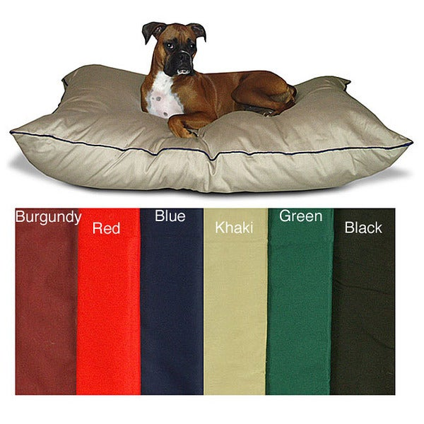 Large 35 inch x 46 inch Super Value Poly-cotton/Polyester Fiber Dog Pet Bed